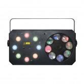 METEOR V, power lighting , jeux de lumiere led, 3 en 1 , sono , dj , music and lights ,reims