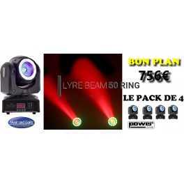 PACK LYRE BEAM 50 RING