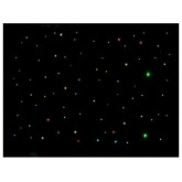 Déco Led Showtec - Black Star Sky II DMX Colour LED