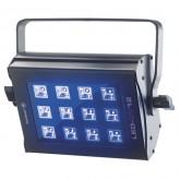 Projecteur flood à 12 LEDs 3W UV