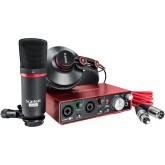 SCARLETT2-STUDIO , focusrite , pack studio , micro , casque , carte son , music and lights , reims