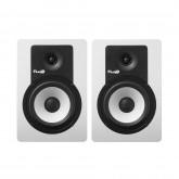 C5 BTW, Enceinte monitoring 5 pouces Bluetooth blanche - vendue par paire , studio, dj , music and lights , reims